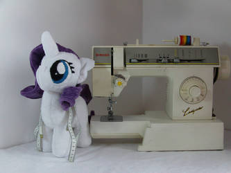 Rarity Filly Plush by BassPlushProductions