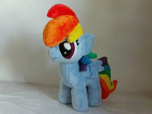 Rainbow Dash Filly Plush