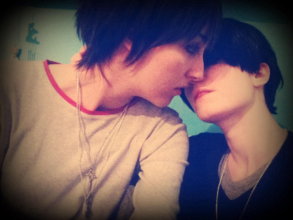 Ereri - Just a kiss by AerithStrife90