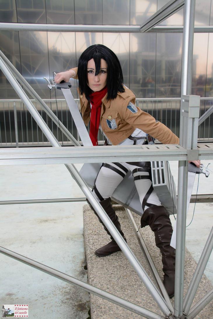 Mikasa Ackerman 01 by AerithStrife90