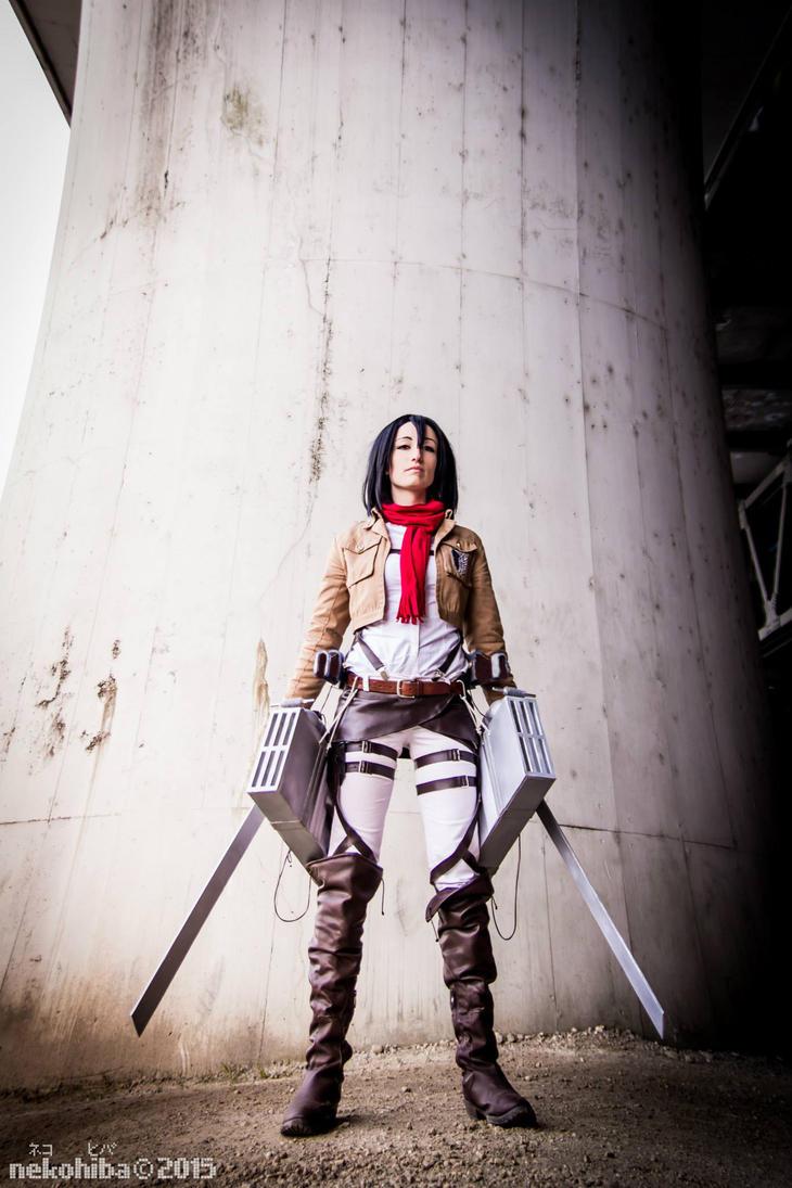 Mikasa Ackerman 02 by AerithStrife90