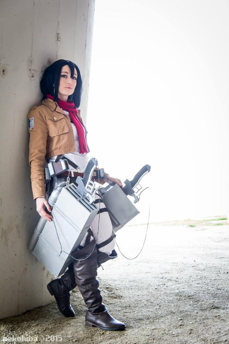 Mikasa Ackerman 05 by AerithStrife90