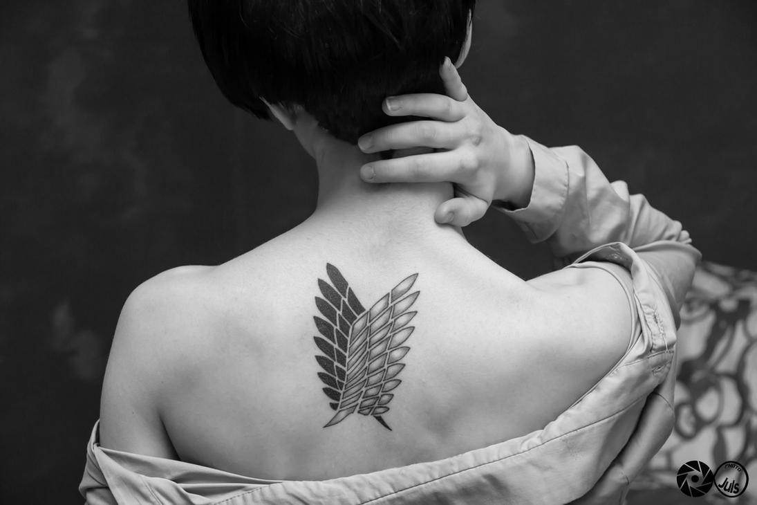 Levi - Wings of freedom by AerithStrife90