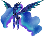 Rainbow Power Princess Luna