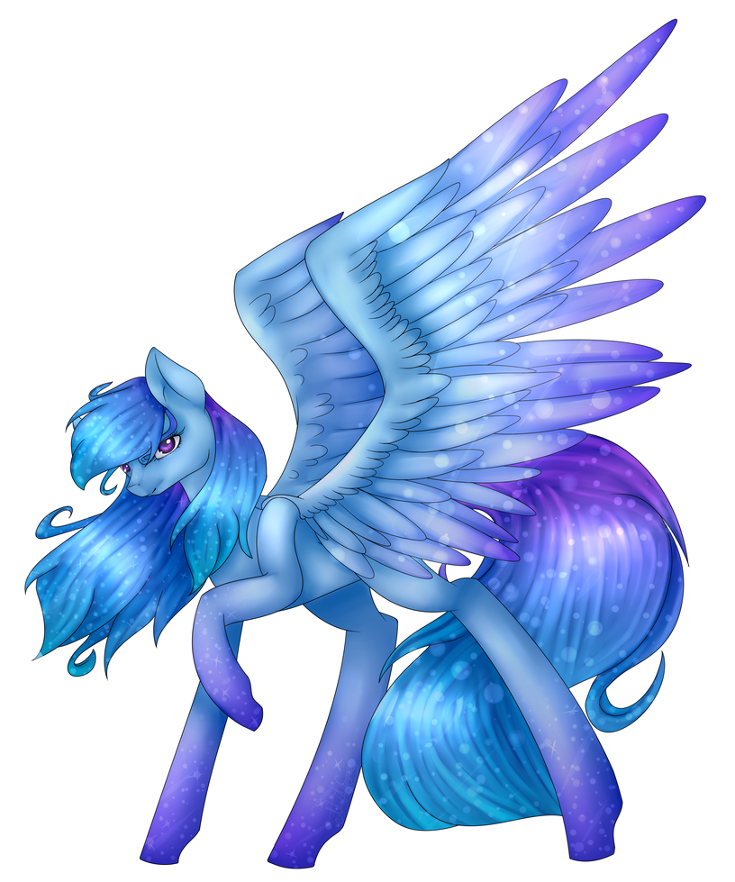 [Art Trade] Northern Lights by midfire