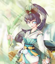 Fanart Hotarugusa Onmyoji by FrostyShield951