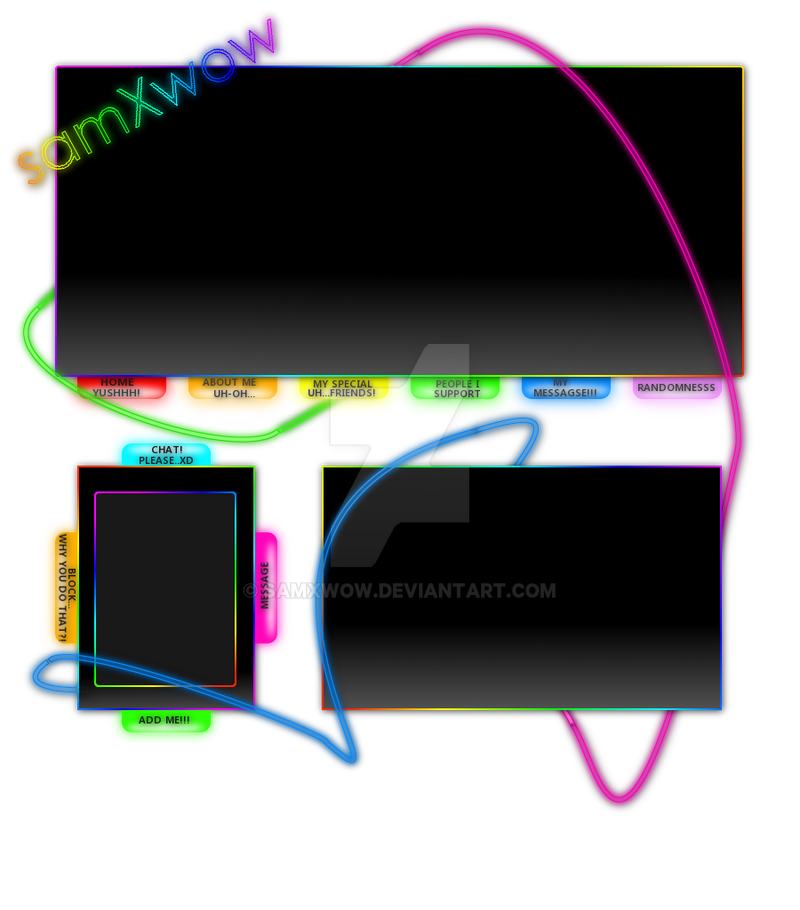 This Dj Themed Imvu Layout Has Many Little Details Including An Animated Avatar Name Le That Vibrates Ons And Scrolling Content