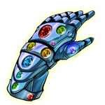 the new  Infinity Gauntlet by Haseo1970