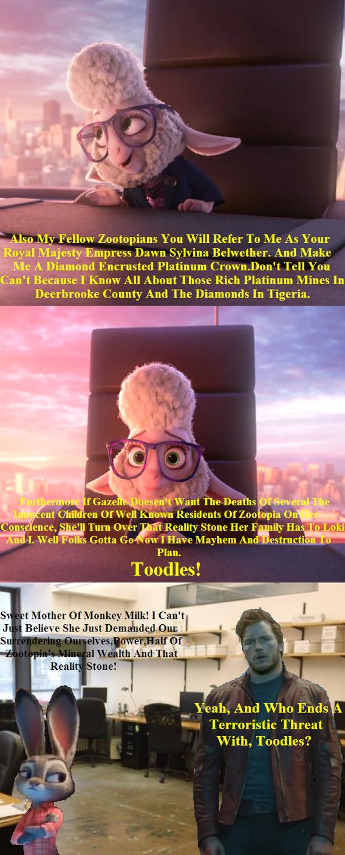 Empress demands by Jeffyraccoon