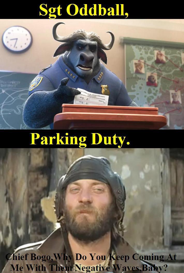 Duty for oddball by Jeffyraccoon