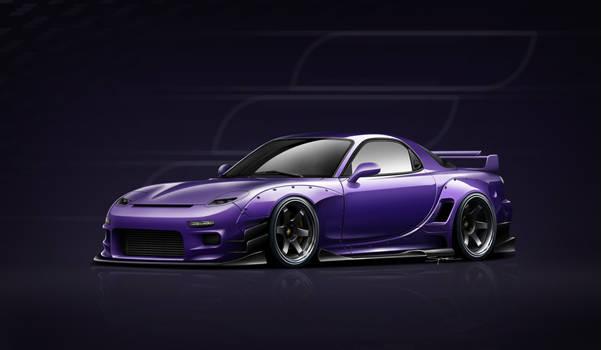 Mazda RX-7 Widebody
