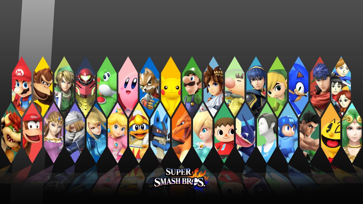 super smash bros backgrounds - photo #3