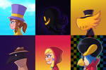 A Hat in Time Side Profiles