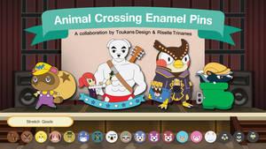 Animal Crossing Pins Kickstarter!