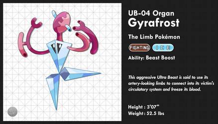 UB-04 Organ - Gyrafrost by SailorVicious