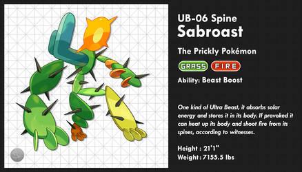 UB-06 Spine - Sabroast by SailorVicious