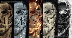 Miyamoto Musashi 5 Rings