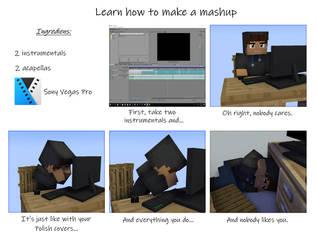 [Meme] Learn how to make a mashup by KurosPL