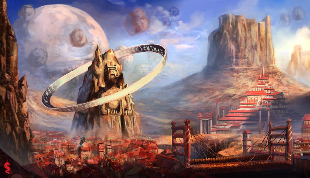 Desert God by ltramaral
