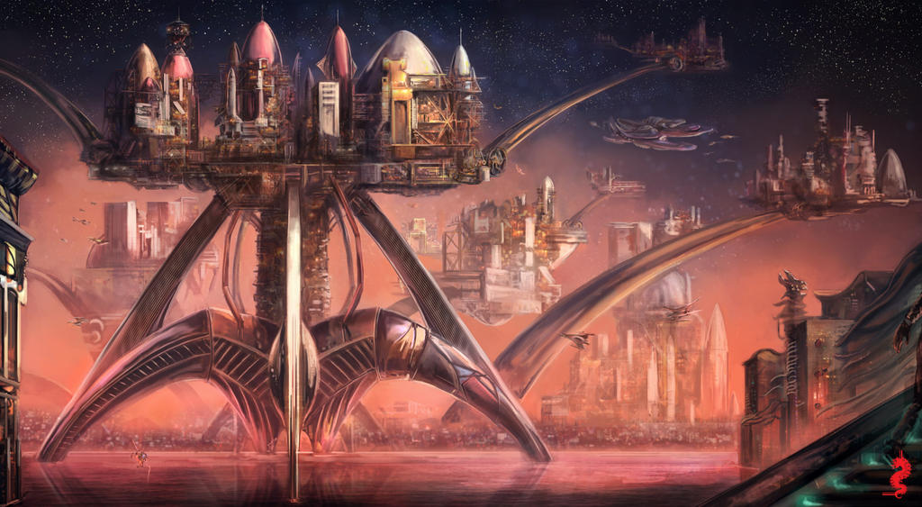 Rocket Environment 2 by ltramaral