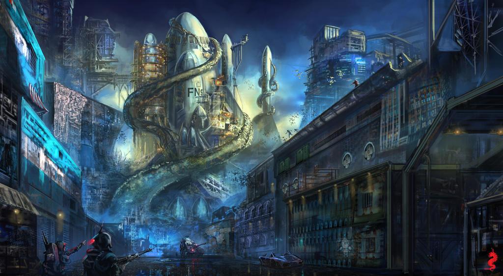Rocket Environment 3 by ltramaral