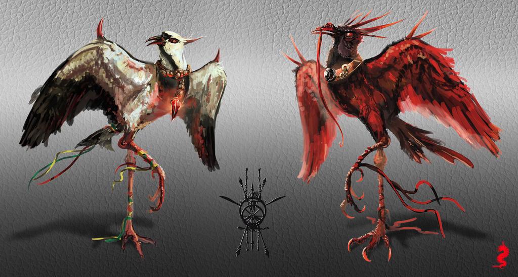 Quero-Quero and Quero-Sangue by ltramaral
