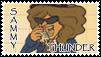 Sammy Thunder Stamp by ForeverSonu