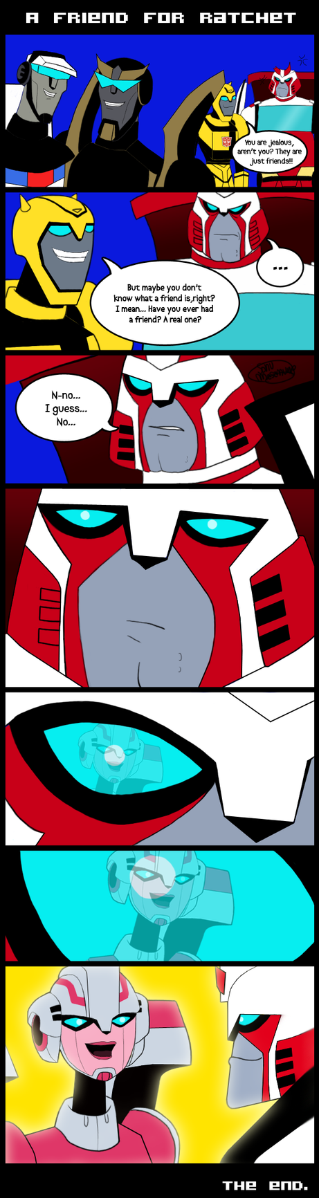 TFA - A friend for Ratchet by ForeverSonu