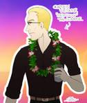 Resident Evil - Wesker's Summer Mood by ForeverSonu