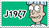 Doofus Rick STAMP by ForeverSonu