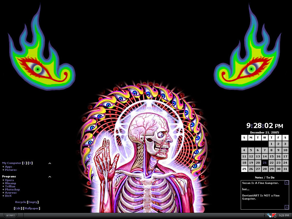 Pin Alex Grey Tool Head Tattoo Andy Tats 2009 Artistsorg ...