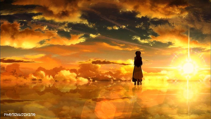 Kirito and Asuna Kiss by TheNovaDivine