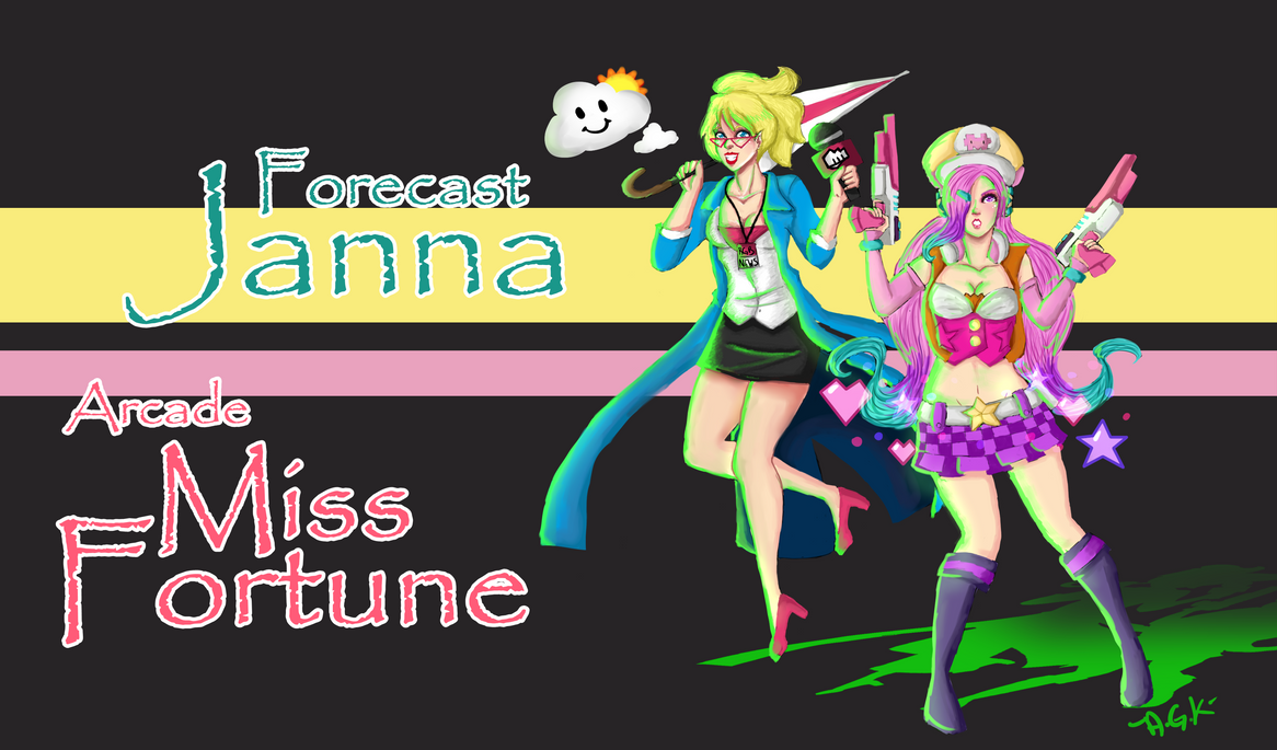Forecast Janna Arcade Miss Fortune by AlmaGKrueger