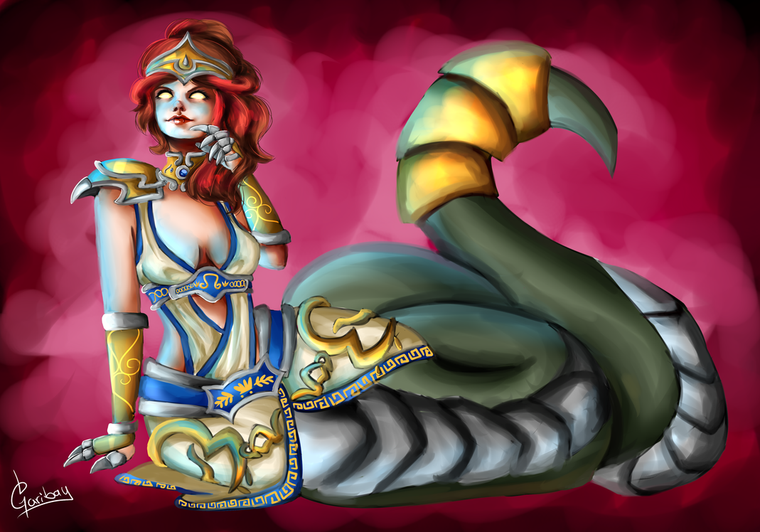 Mythic Cassiopeia by AlmaGKrueger