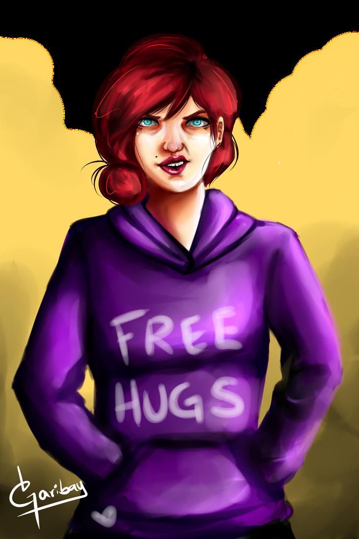 Free Hugs by AlmaGKrueger