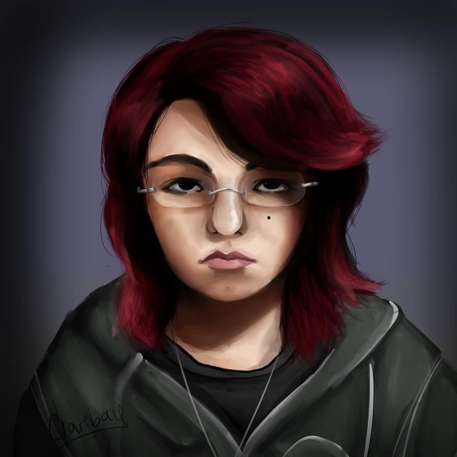 Self Portrait by AlmaGKrueger