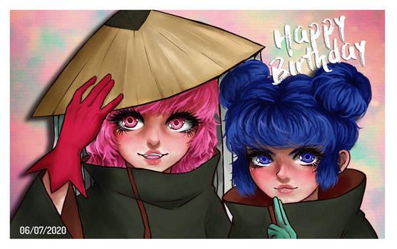 Mew Ichigo y Mew Minto Akatsuki