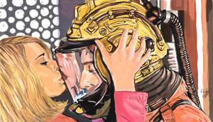 Doctor Who - My spaceman, mine by Wondercookies