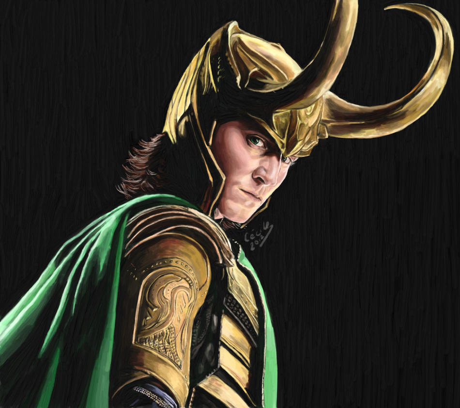 Loki, god of mischief by Wondercookies on DeviantArt