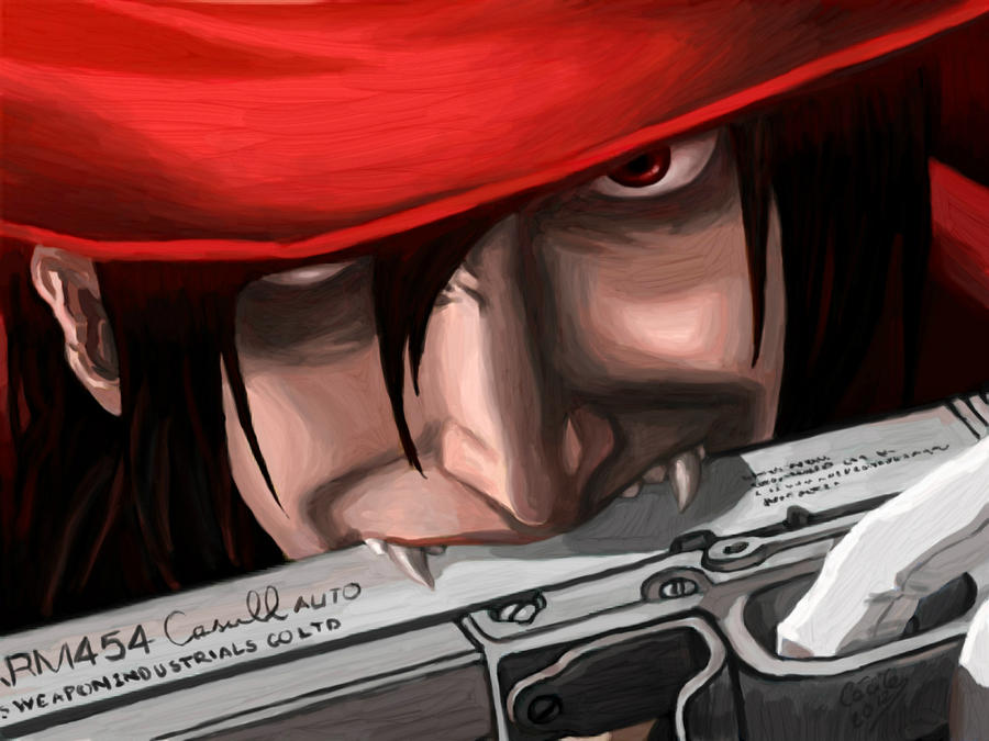Crimson and black - Alucard