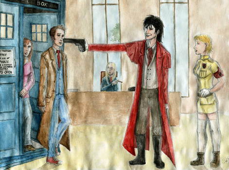Crossover - Doctor Who x Hellsing