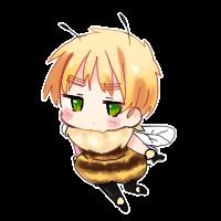 Lovely bee by Nakimasen
