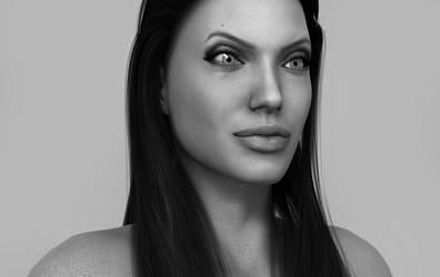 Angelina Jolie Test1 by ElinorX