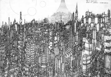 Megablock of Astropolis by bone2002thought