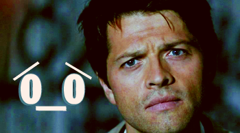 SPN: Castiel's Confused Face by ashers-ashers