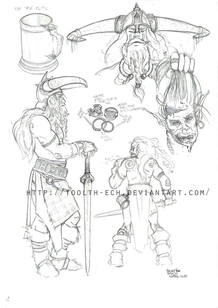 Barbarian Concept by toolth-ech