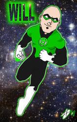 Self Portrait: Green Lantern