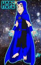Self Portrait: Blue Lantern