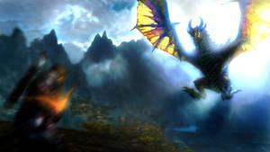 Skyrim : Dragon Attack
