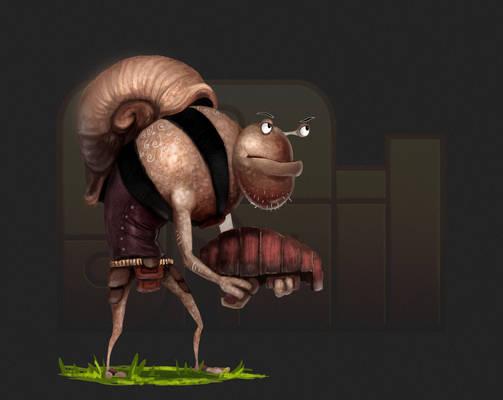 Infected Snail - Liquid Snail